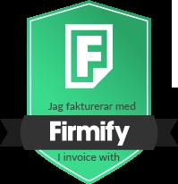 Jag fakturerar med Firmify